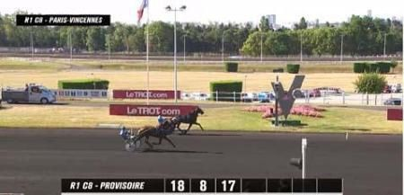 Vincennes, Bad Boy du Dollar s'impose à 7€10....donné en 3 chevaux