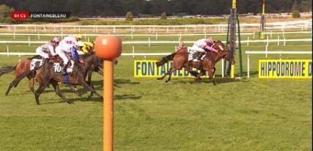 fontainebleau, Chabada Rosetgri gagne à 7€00.........en 3 chevaux
