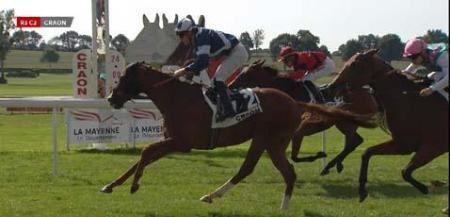 Craon, Cap Rocat s'impose à 5€00........en 2 chevaux