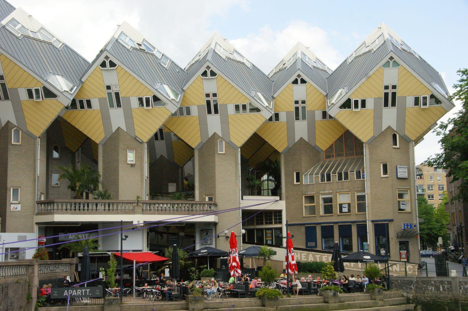Rotterdam, ville de l'architecture nouvelle