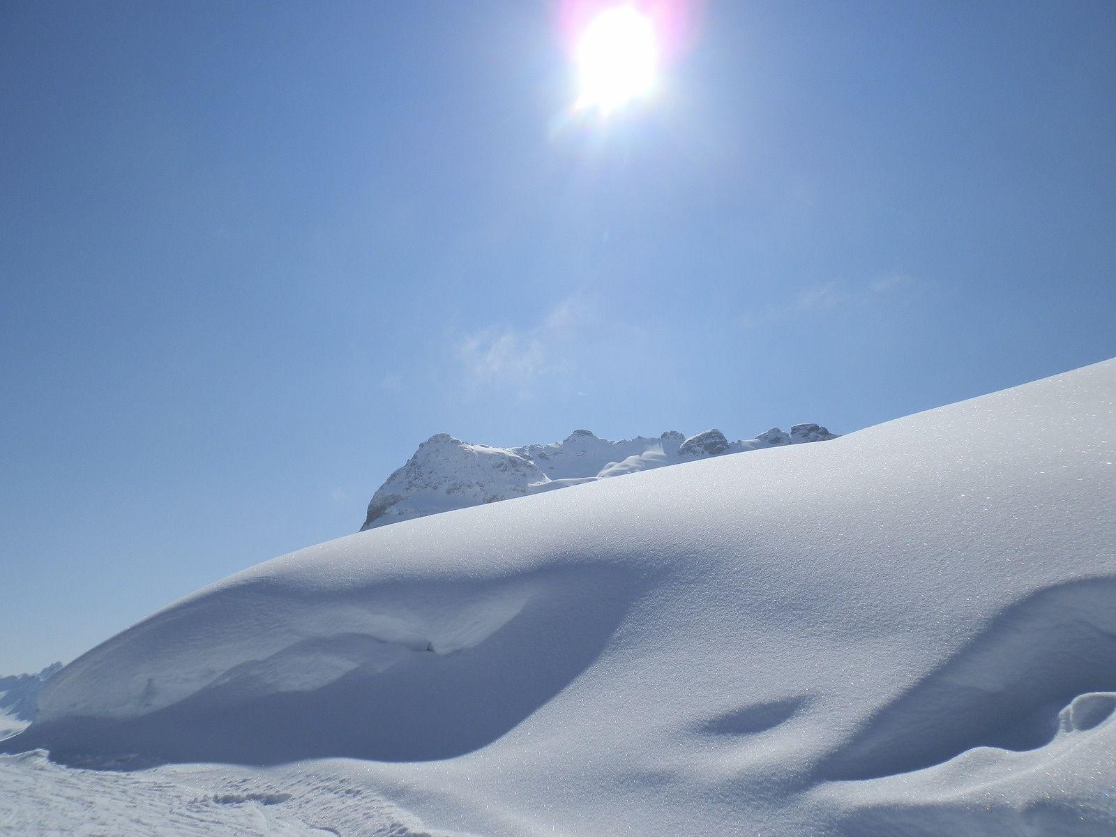 Pistes de ski : ça dévale, ça emballe et ça s'étale