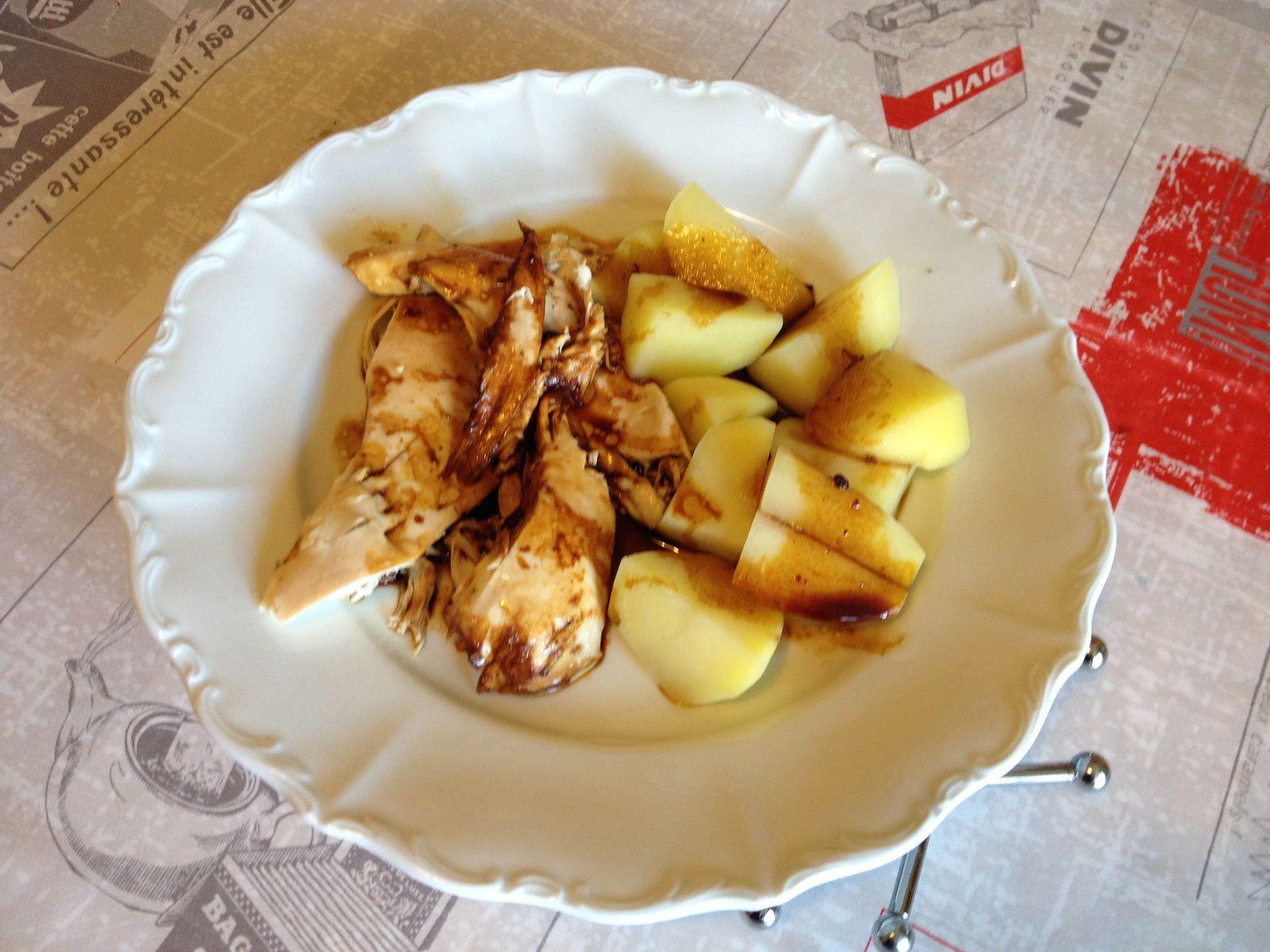 s'accorde tres bien avec des pommes de terre vapeur