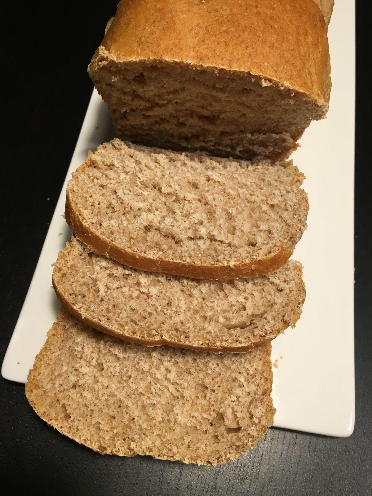 La brioche à la farine complète