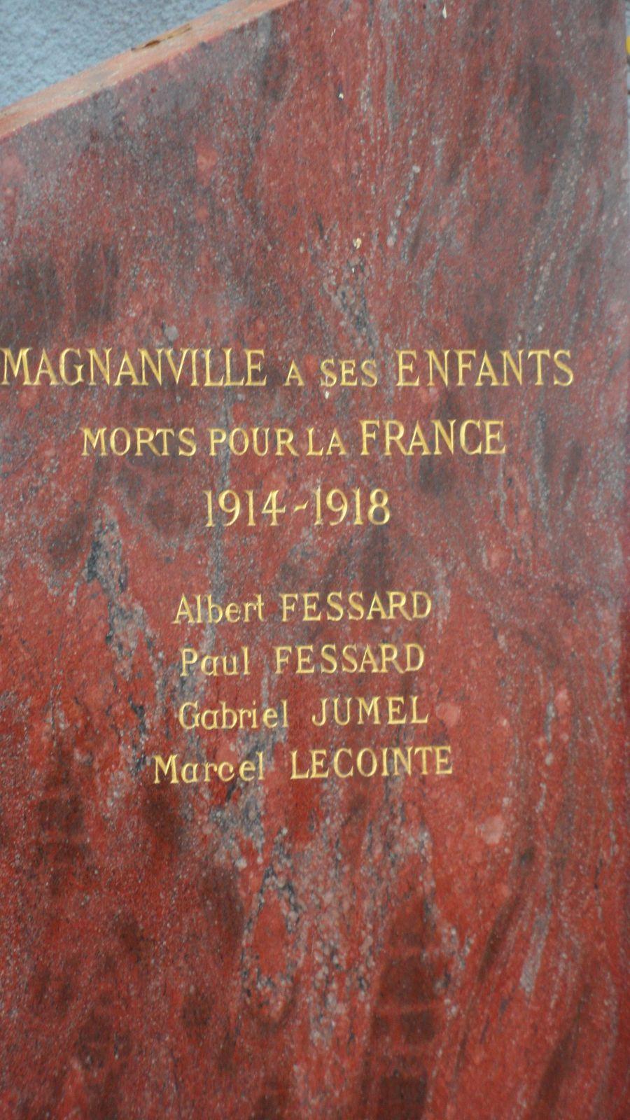Cérémonie du 11 novembre à Magnanville