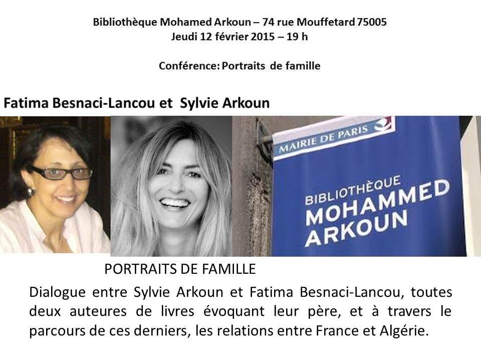 Une conférence utile pour le chapitre sur les mémoires de la Guerre d'Algérie