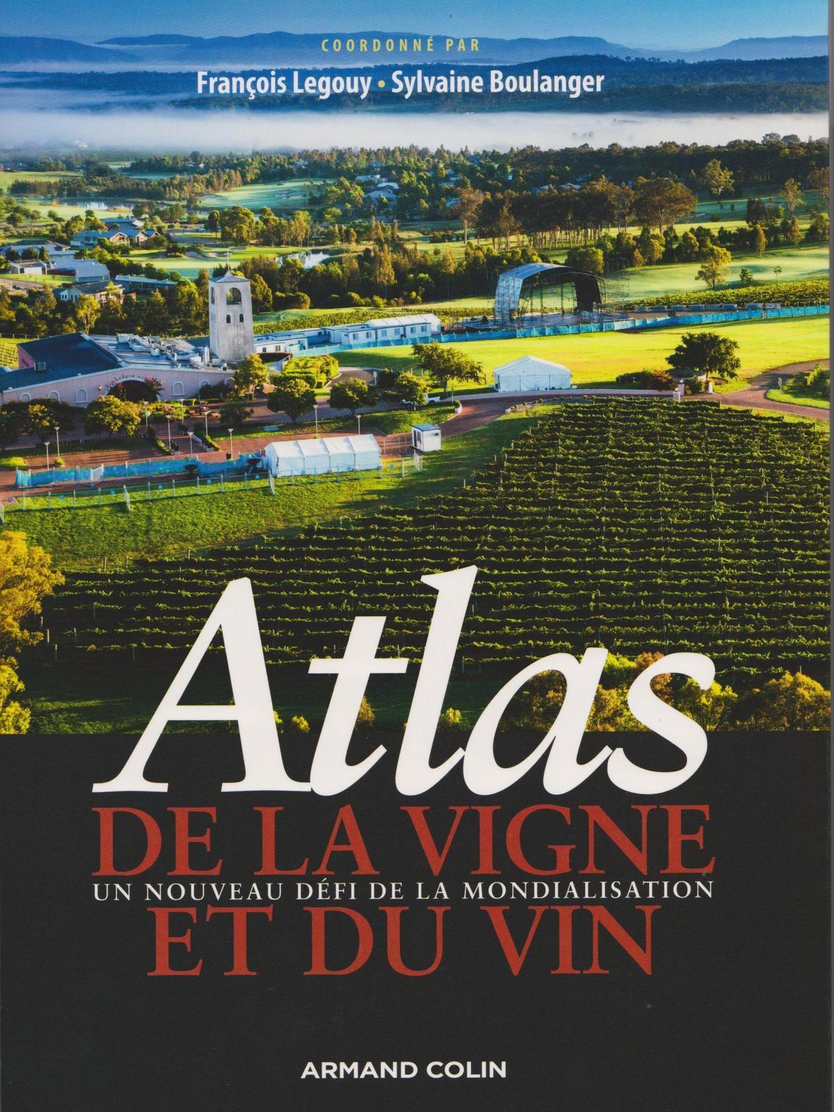"""Mme Lignon-Darmaillac a notamment rédigé l'article sur l'oenotourisme dans cet """"Atlas de la vigne et du vin"""" ,disponible au CDI."""