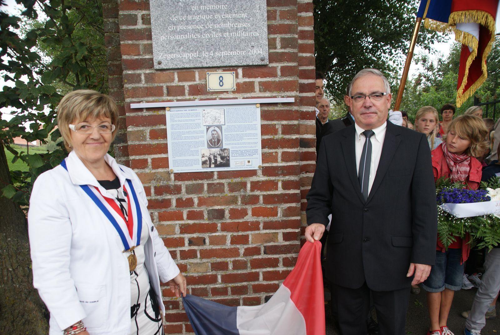La CCHF a participé au financement de la plaque commémorative.