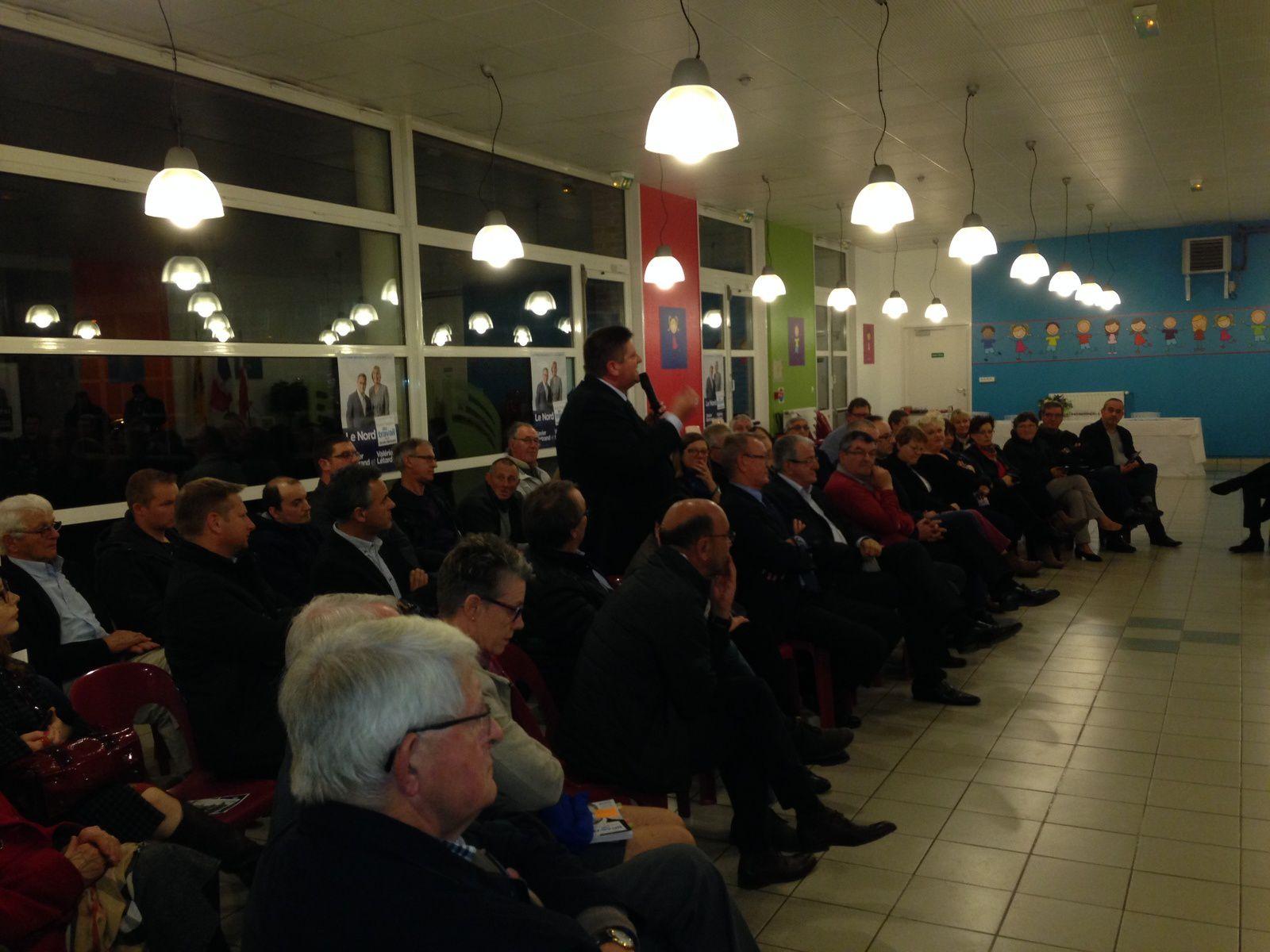 Nouvelle zone d'activités sur Bierne. Campagne électorale. Revente du &quot&#x3B;petit Europerf&quot&#x3B;. Piscine intercommunale..