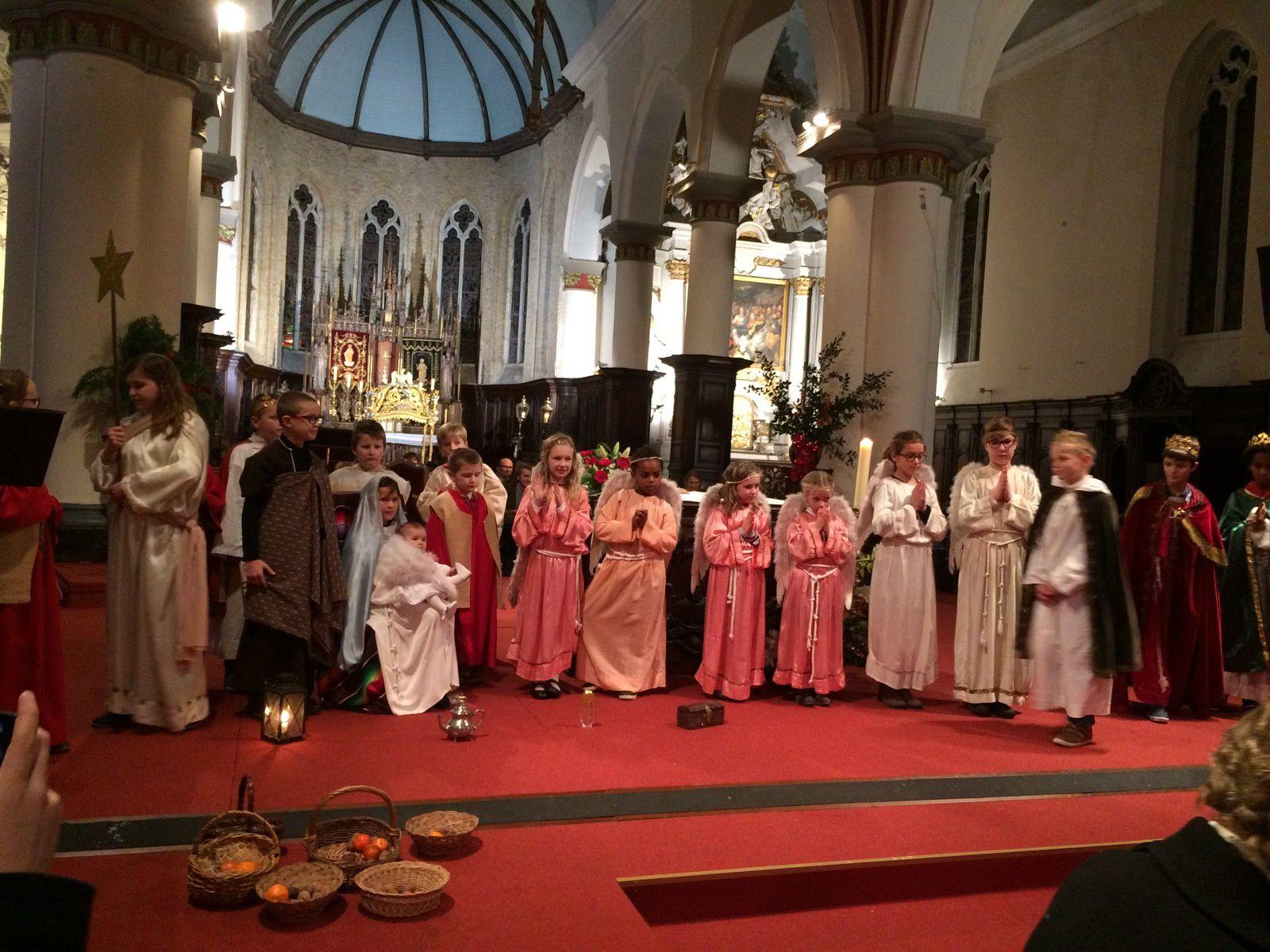24 décembre, 19h30, messe de Noël à Hondschoote.