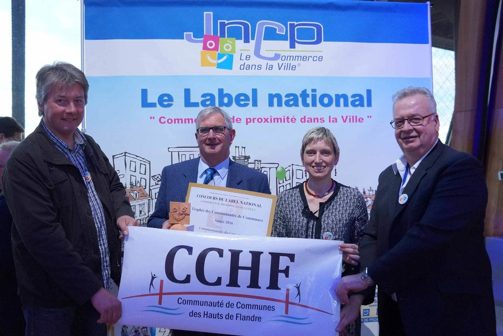La CCHF décroche le premier prix national à Paris !