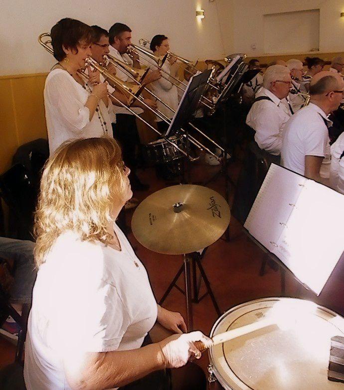L'Harmonie de Villepinte au Villasavary