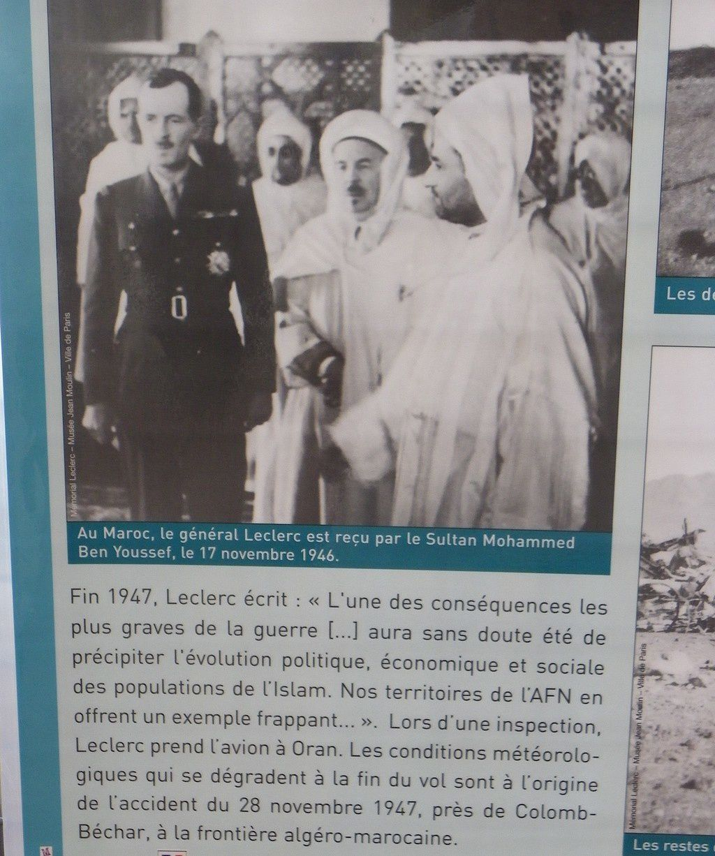 Mort du Général Leclerc en 1947
