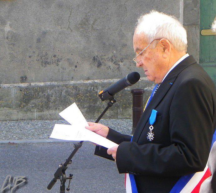 Discours émouvant de notre maire Jacques Danjou