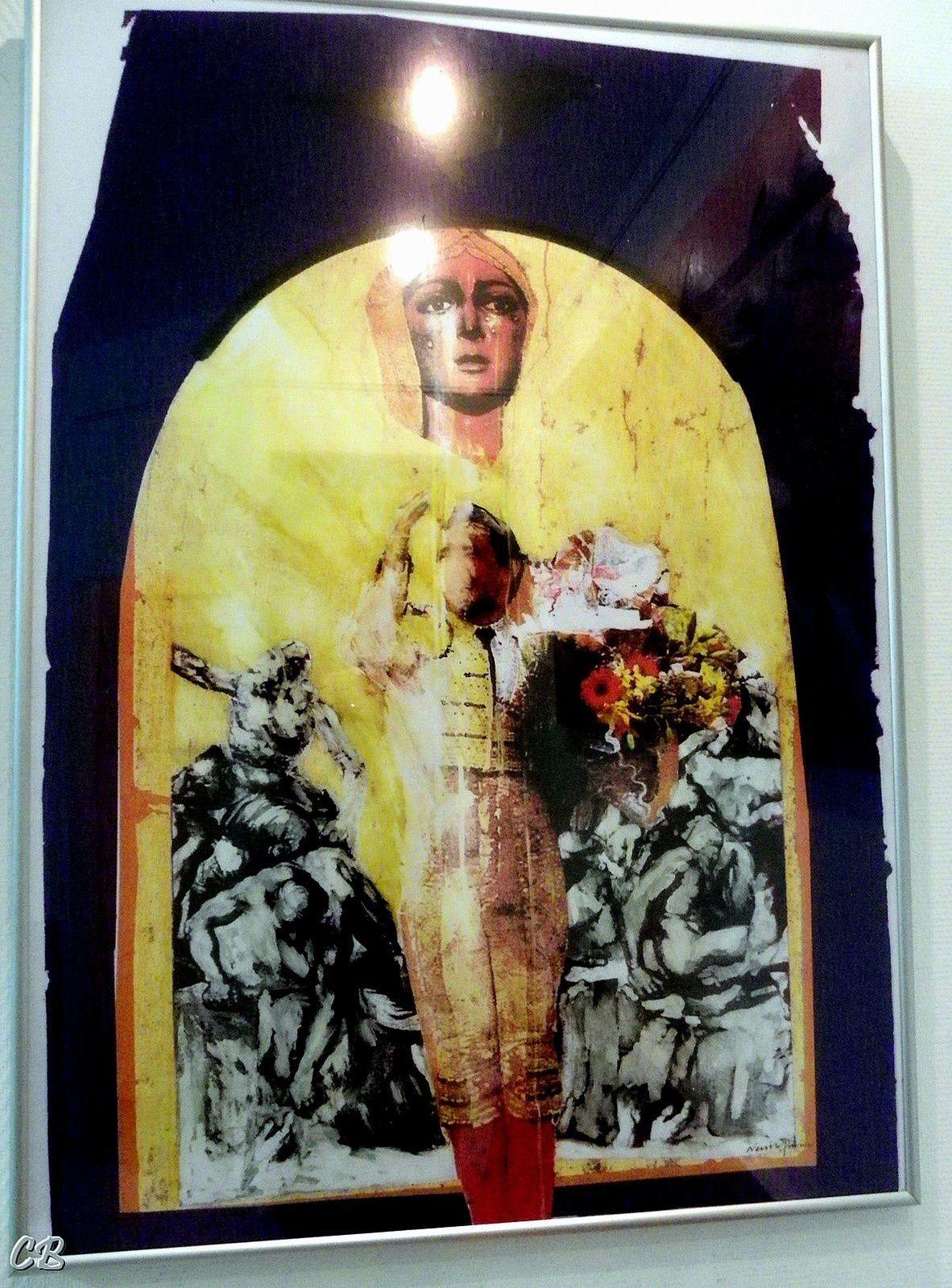 Exposition de peinture de notre artiste villasavarien, Neville Paine