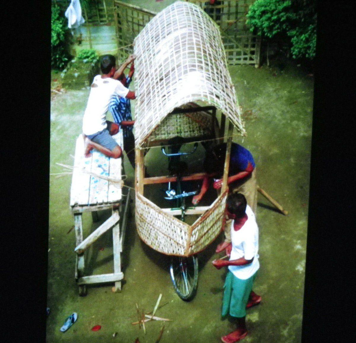 Construction d'un tandem bateau