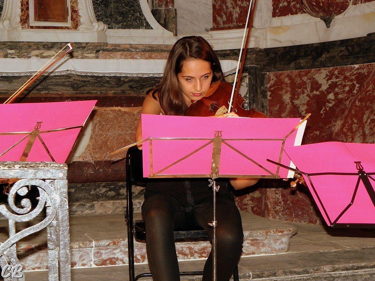Charlotte Giraud violon alto