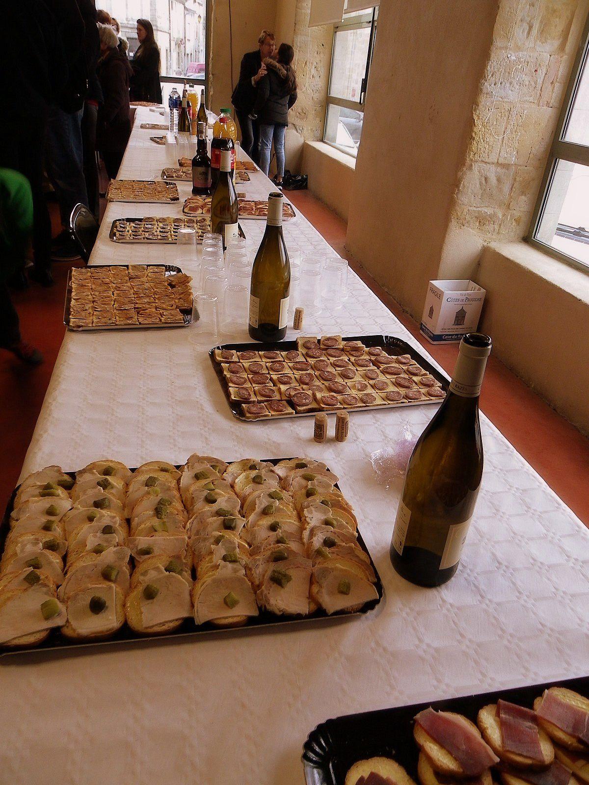 Les voeux du Maire 2017 dans notre village de VILLASAVARY, Aude