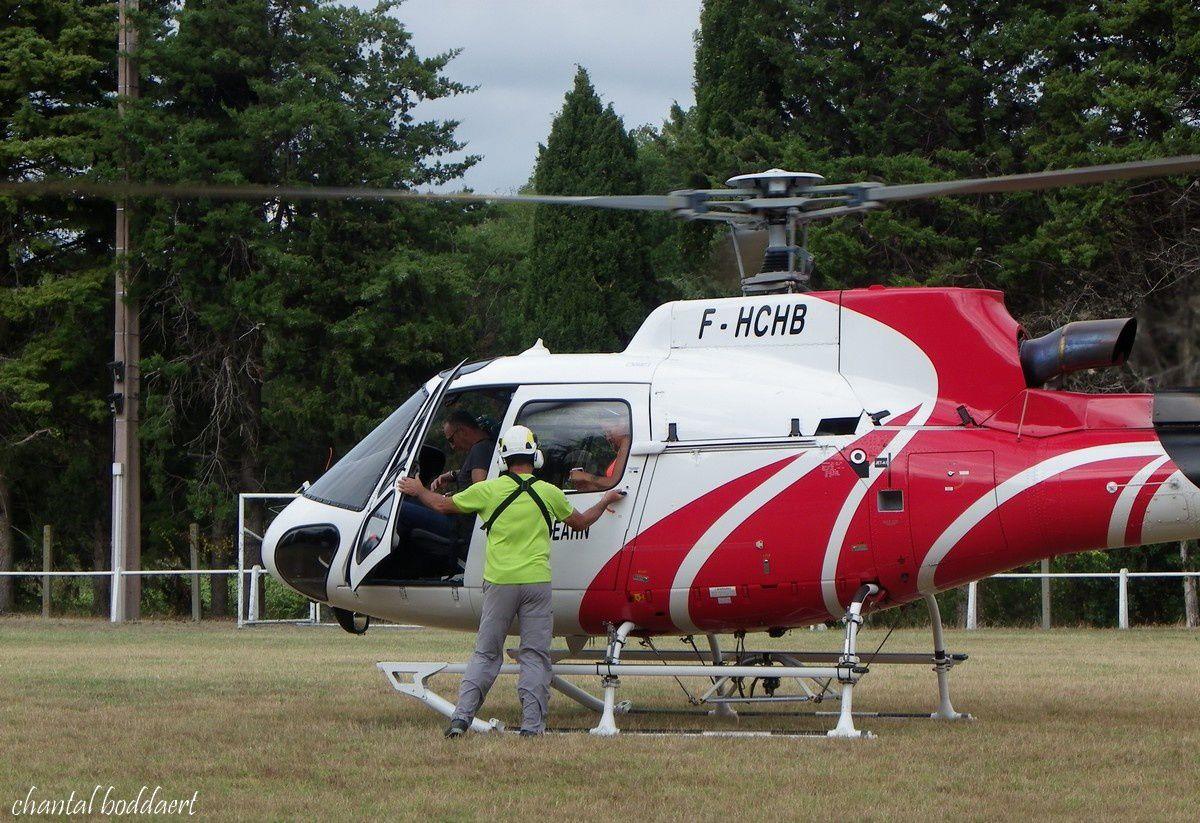 Frissons garantis au baptème d'hélicoptère au Villasavary (Aude)