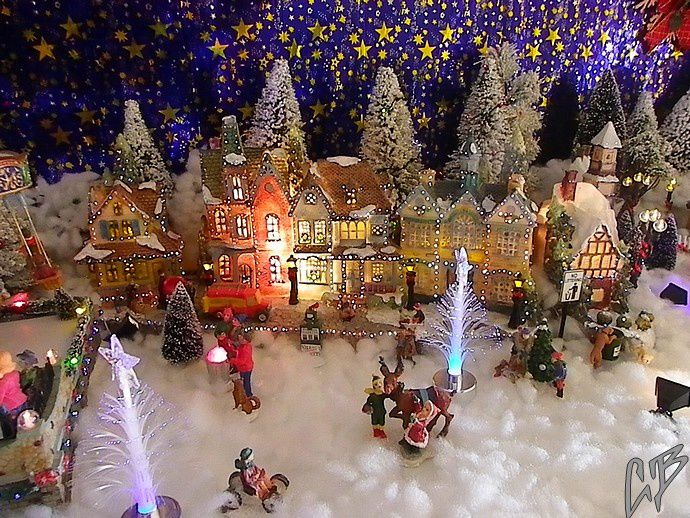 Village de Noël au Villasavary