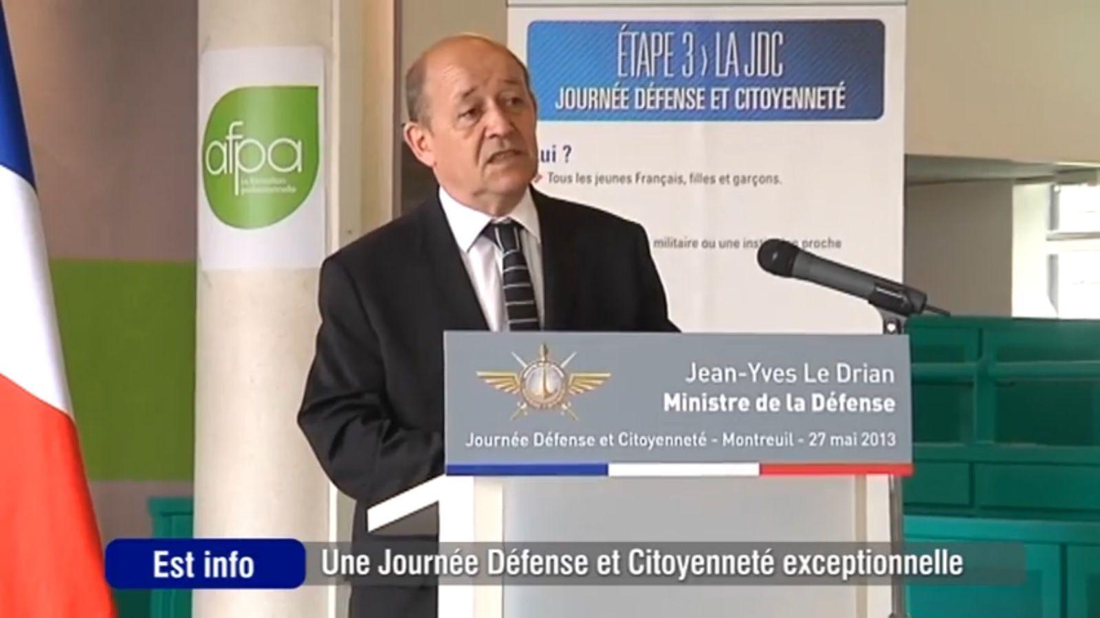 """Sujet de JT : """"Une journée Défense et Citoyenneté exceptionnelle"""""""