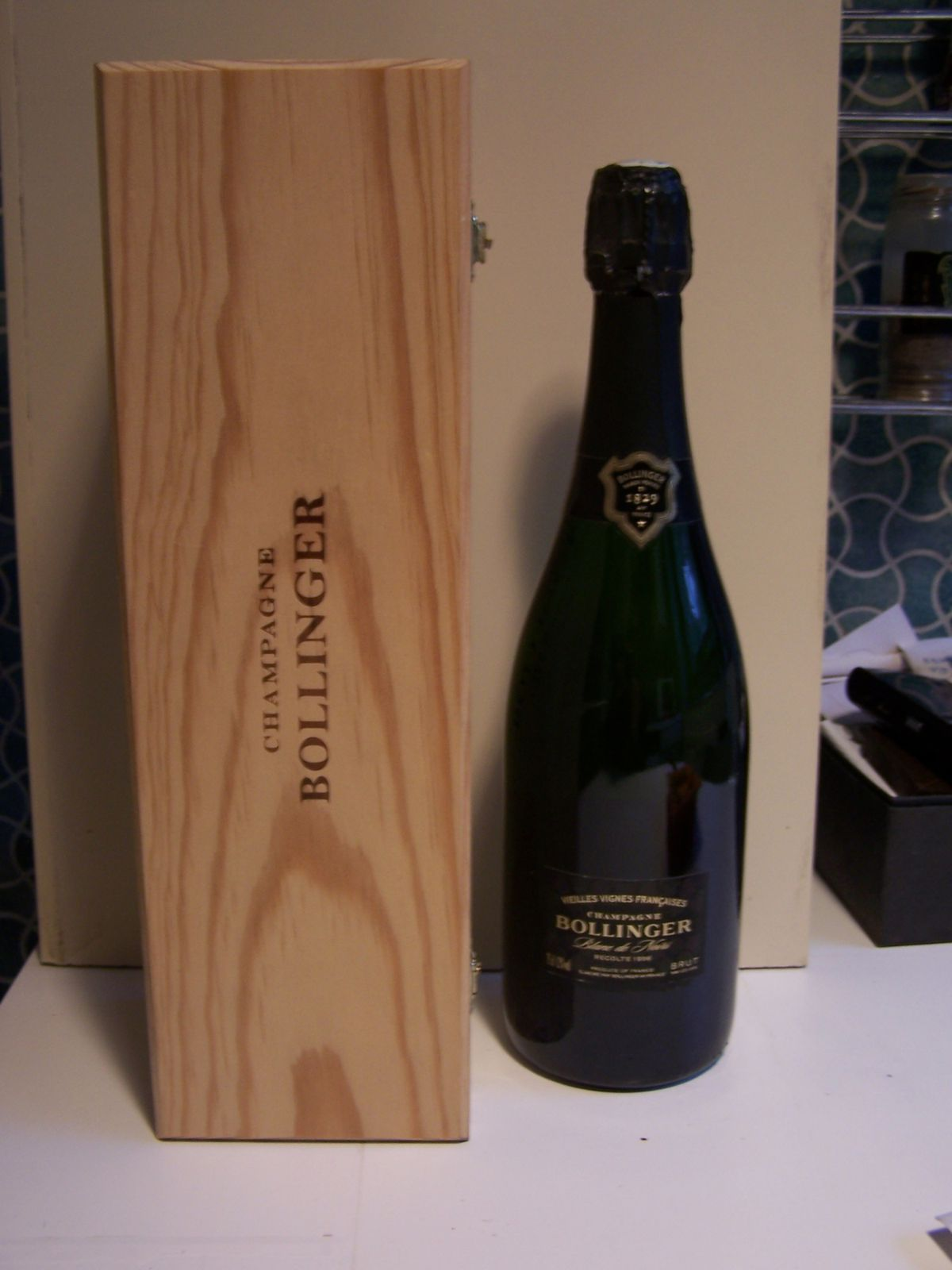 New champagnes just bought for 1985 salon champagne