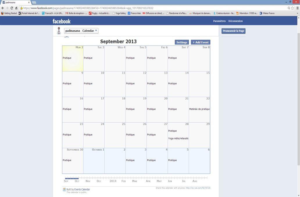 Calendrier Mois De Septembre.Calendrier Du Mois De Septembre Yogapadmasana Over Blog Com