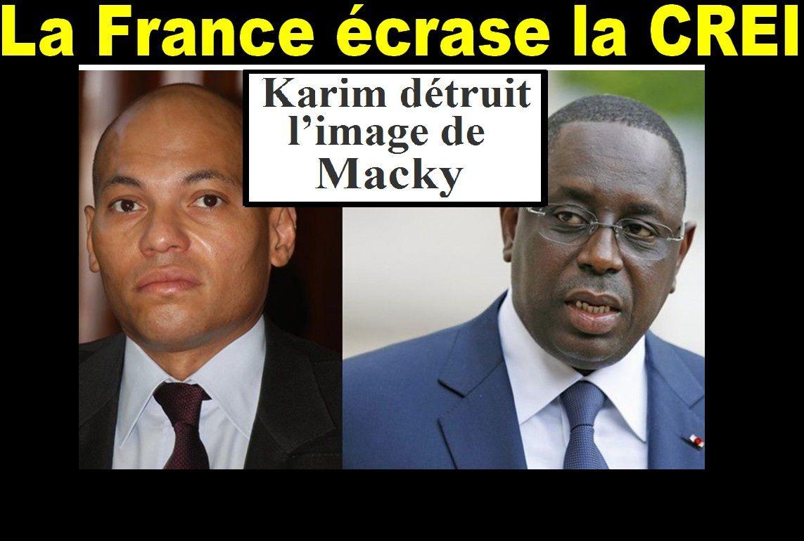 L'avis de l'ONU sur l'affaire Karim Wade fait du bruit…La presse française s'y met et « tacle » la CREI…Macky est cuit