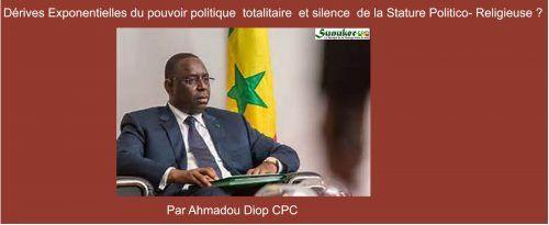Emission Xew Xewi Rewmi du mardi 10 Janvier 2017 avec Ahmadou Diop: Dérives exponentielles du pouvoir totalitaire et silence de la stature- politico religieuse ?
