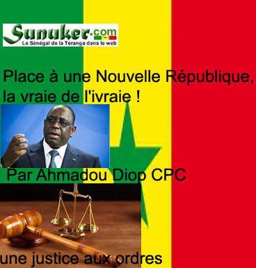 Chronique: Place À une Nouvelle République, la vraie de l'ivraie ! (Par Ahmadou Diop).