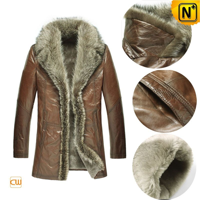 Leather Sheepskin Jacket