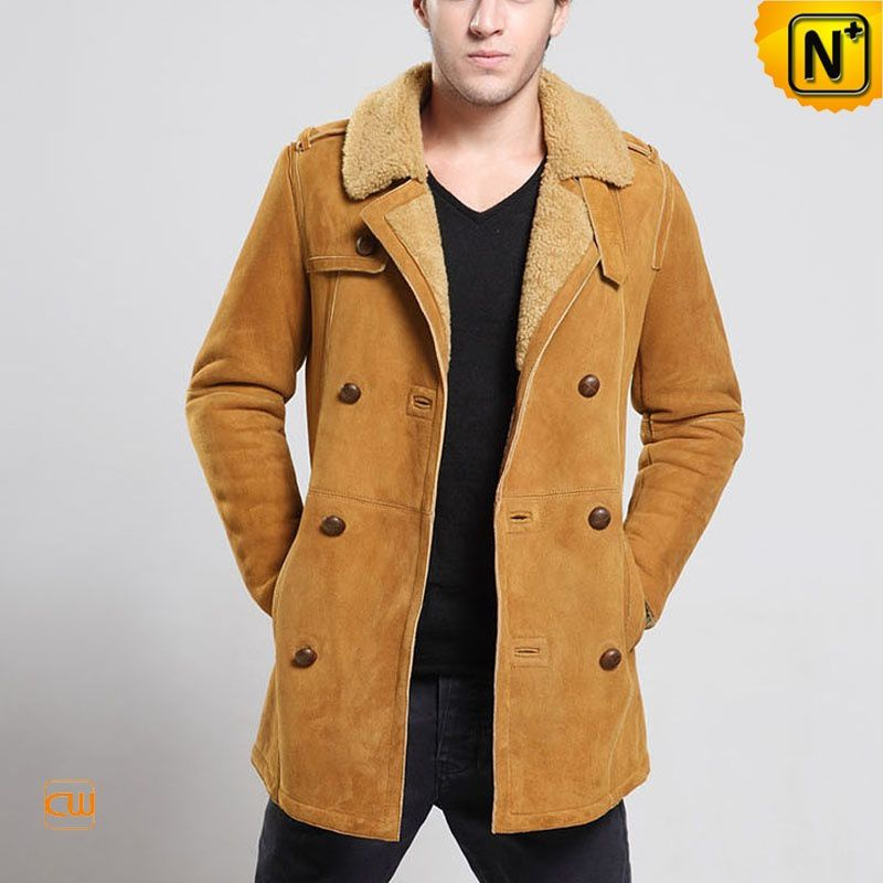 Sheepskin Coats for Men - Genuine Leather Sheepskin Coats