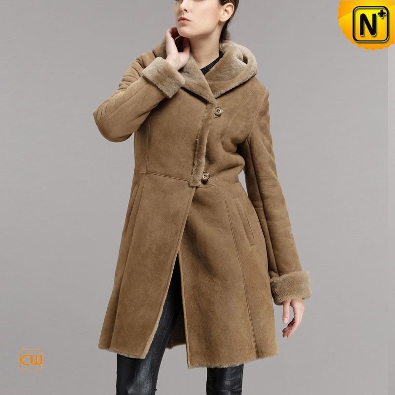 Vintage Shearling Coats for Women - Genuine Leather Sheepskin Coats