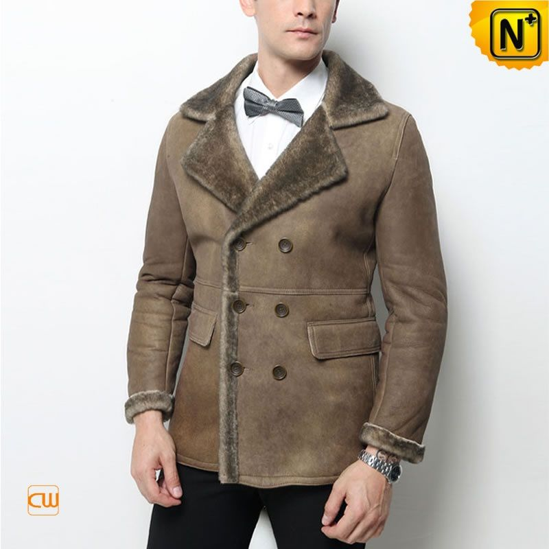 Collection Shearling Coats For Men Pictures - Reikian