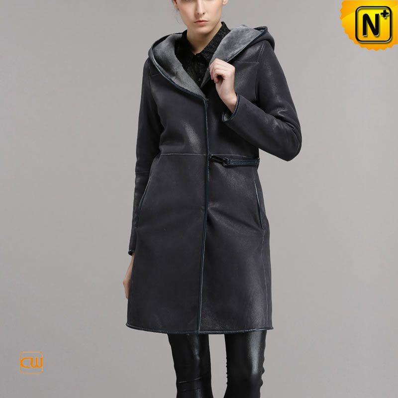 Merino Shearling Coats for Women Merino Shearling Coats ... - Merino Shearling Coats For Women - Genuine Leather Sheepskin Coats