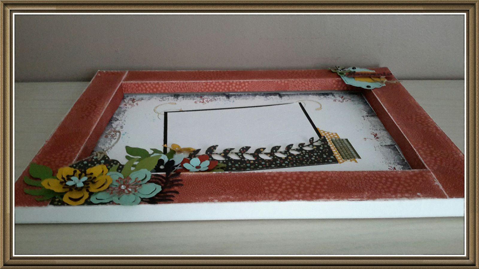 Ce cadre peut être réalisé lors d'un atelier.