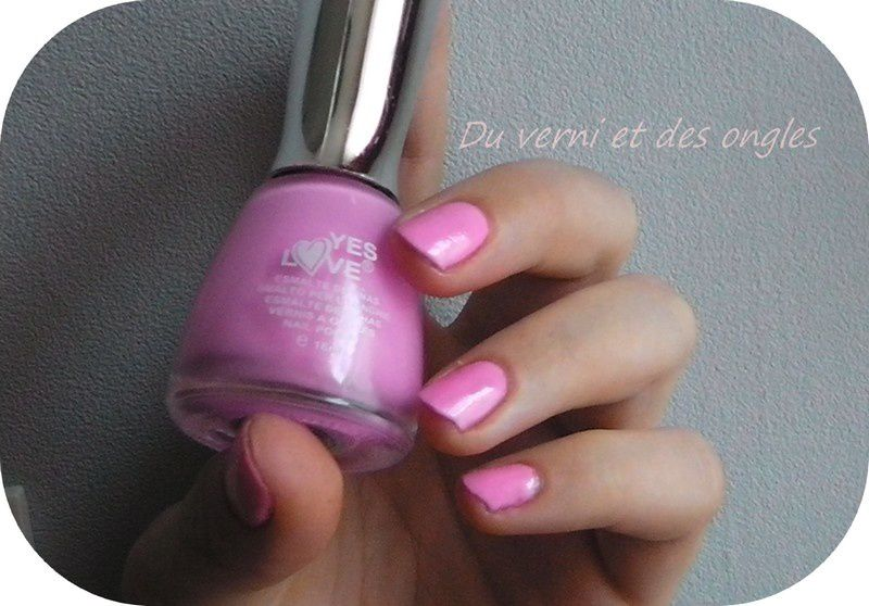 Yes Love - rose tout doux
