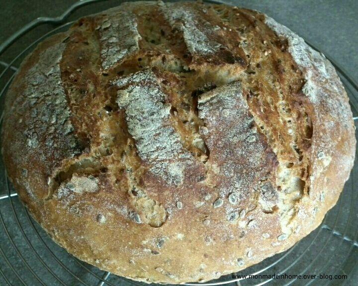 No-Knead Bread.... encore !! ❤