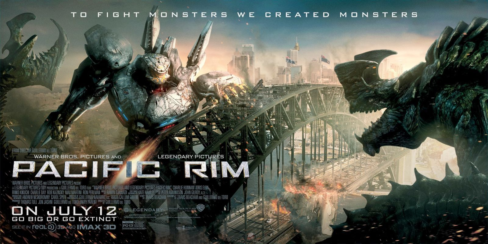 PACIFIC RIM de Guillermo Del Toro [critique]
