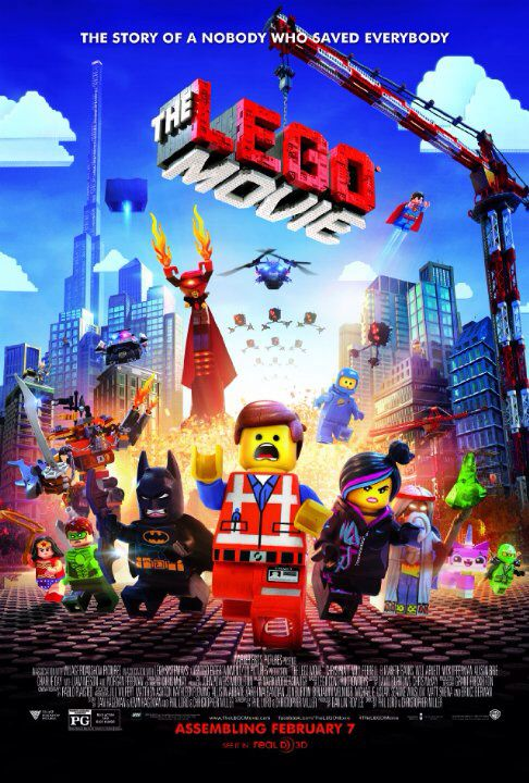 LA GRANDE AVENTURE LEGO (ou THE LEGO MOVIE en VO) de Phil Lord et Chris Miller [critique]