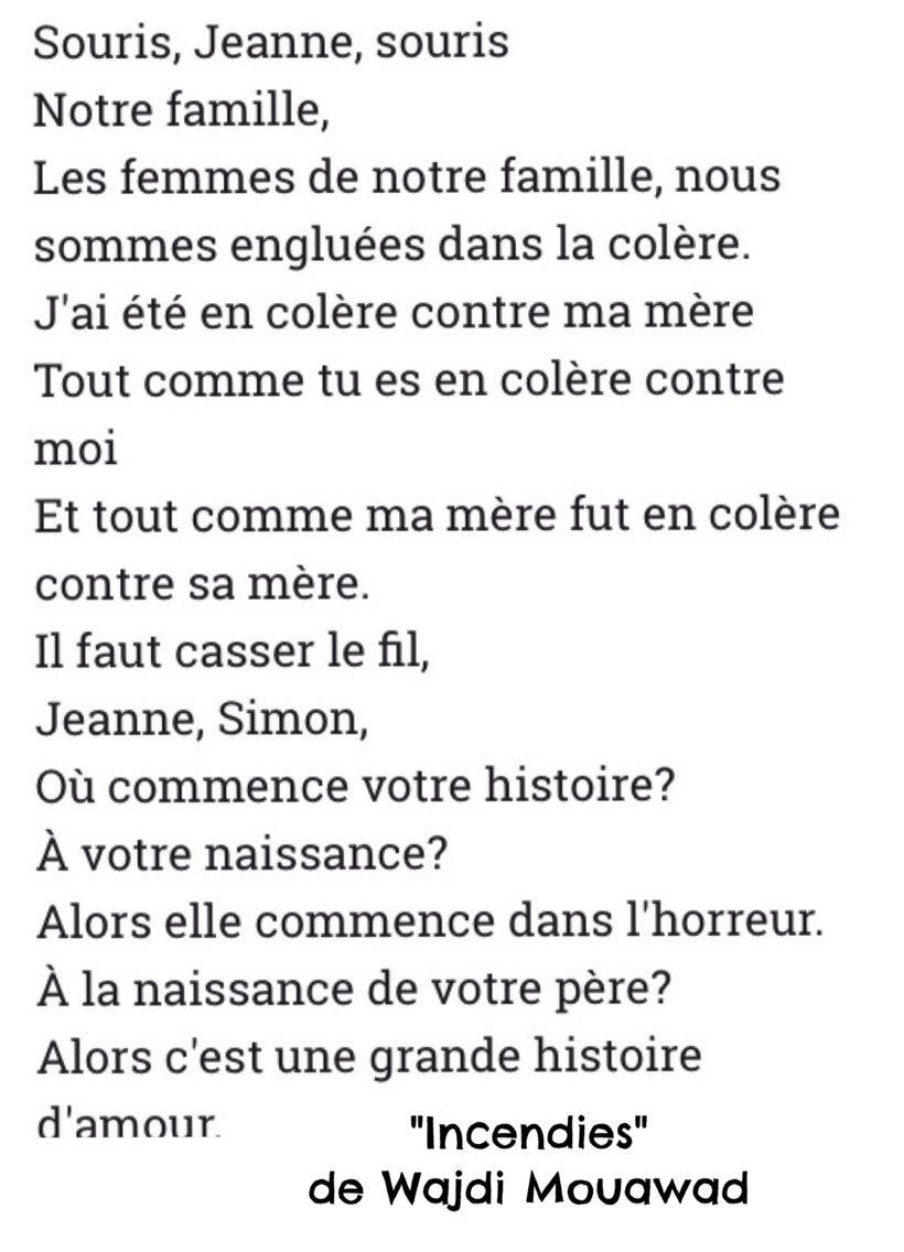INCENDIES de Denis Villeneuve [critique]