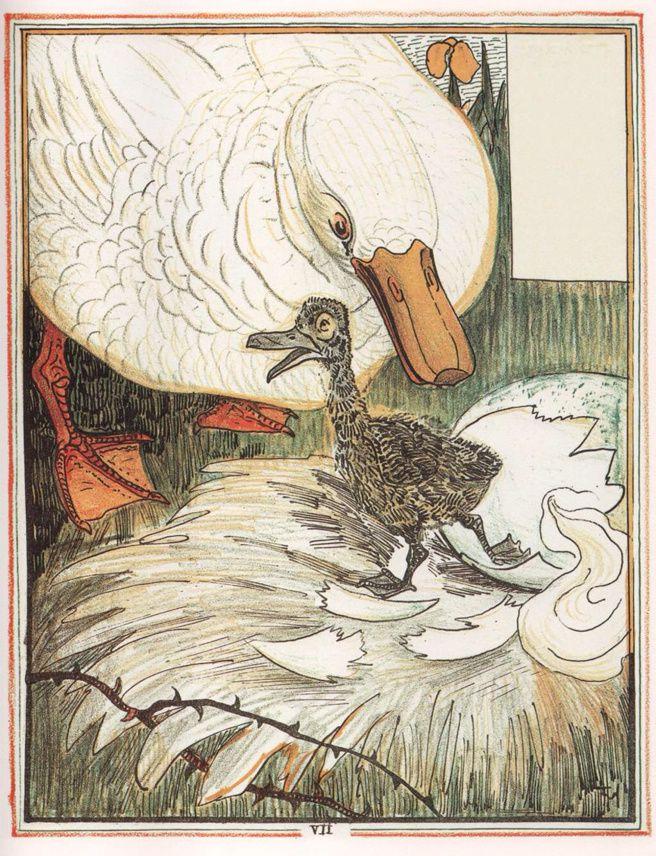 LE VILAIN PETIT CANARD d'à-peu-près Hans Christian Andersen...