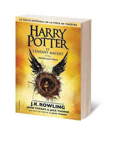 HARRY POTTER ET L'ENFANT MAUDIT de J.K. Rowling, John Tiffany &amp&#x3B; Jack Thorne [critique]