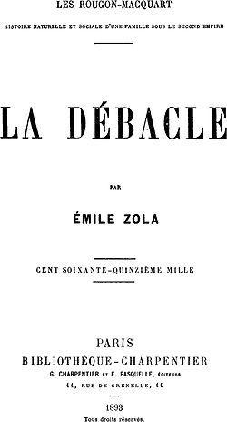 LA DÉBÂCLE d'Emile Zola [contre-profil d'une œuvre] #1