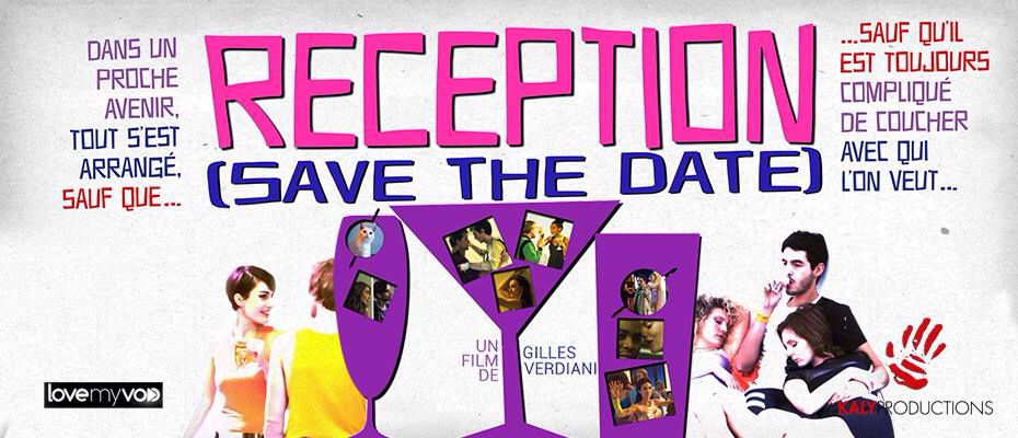 RECEPTION (SAVE THE DATE) de Gilles Verdiani