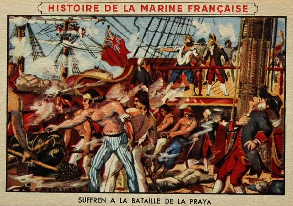 La Praya, 16 avril 1781