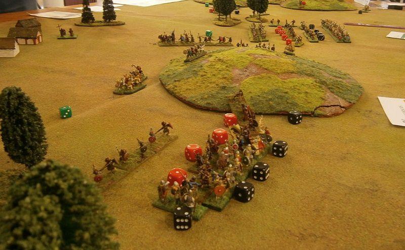 Les Vikings progressent, et les Irlandais sont bousculés sur tout le front