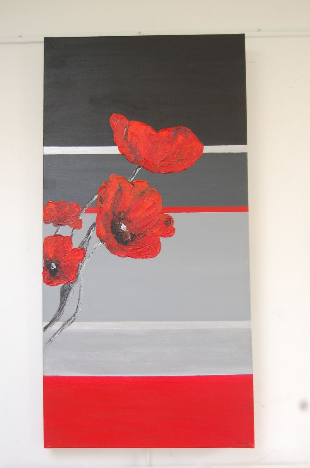 Espace -Red ...huile