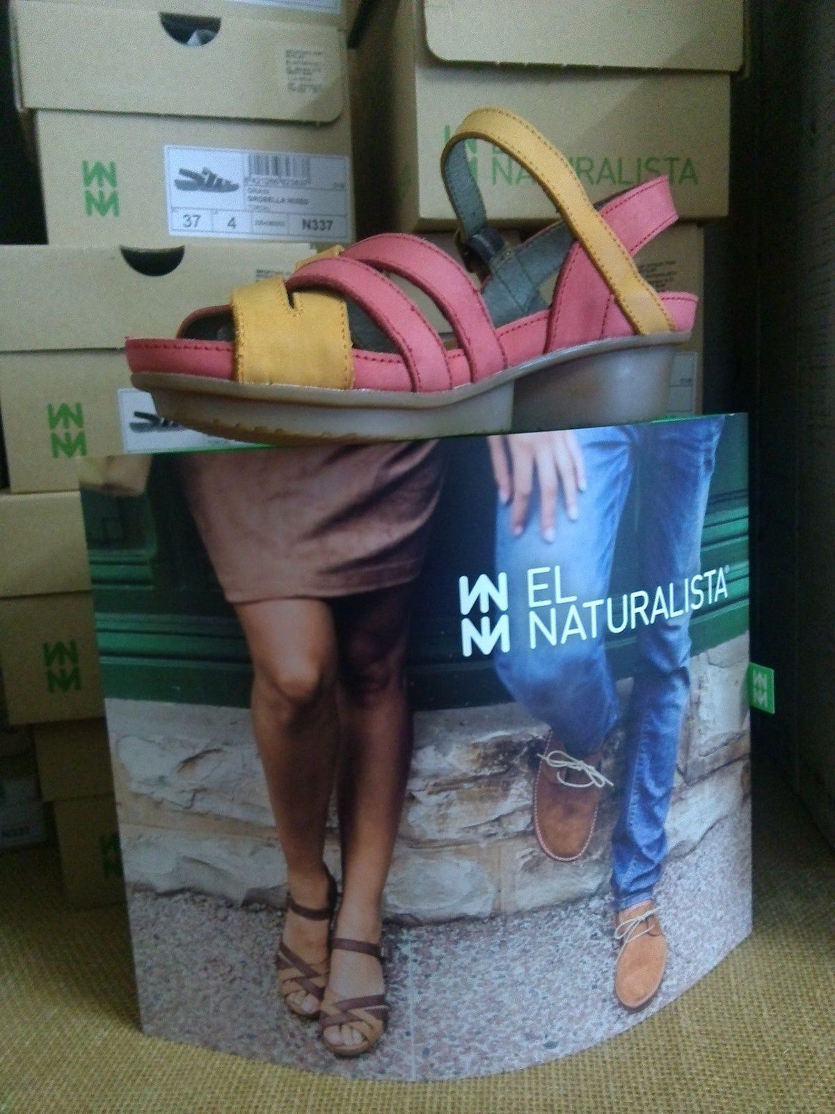 40 modeles de chaussures EL NATURALISTA boutique  LIBERTY BAG aux sables d Olonne en VENDEE