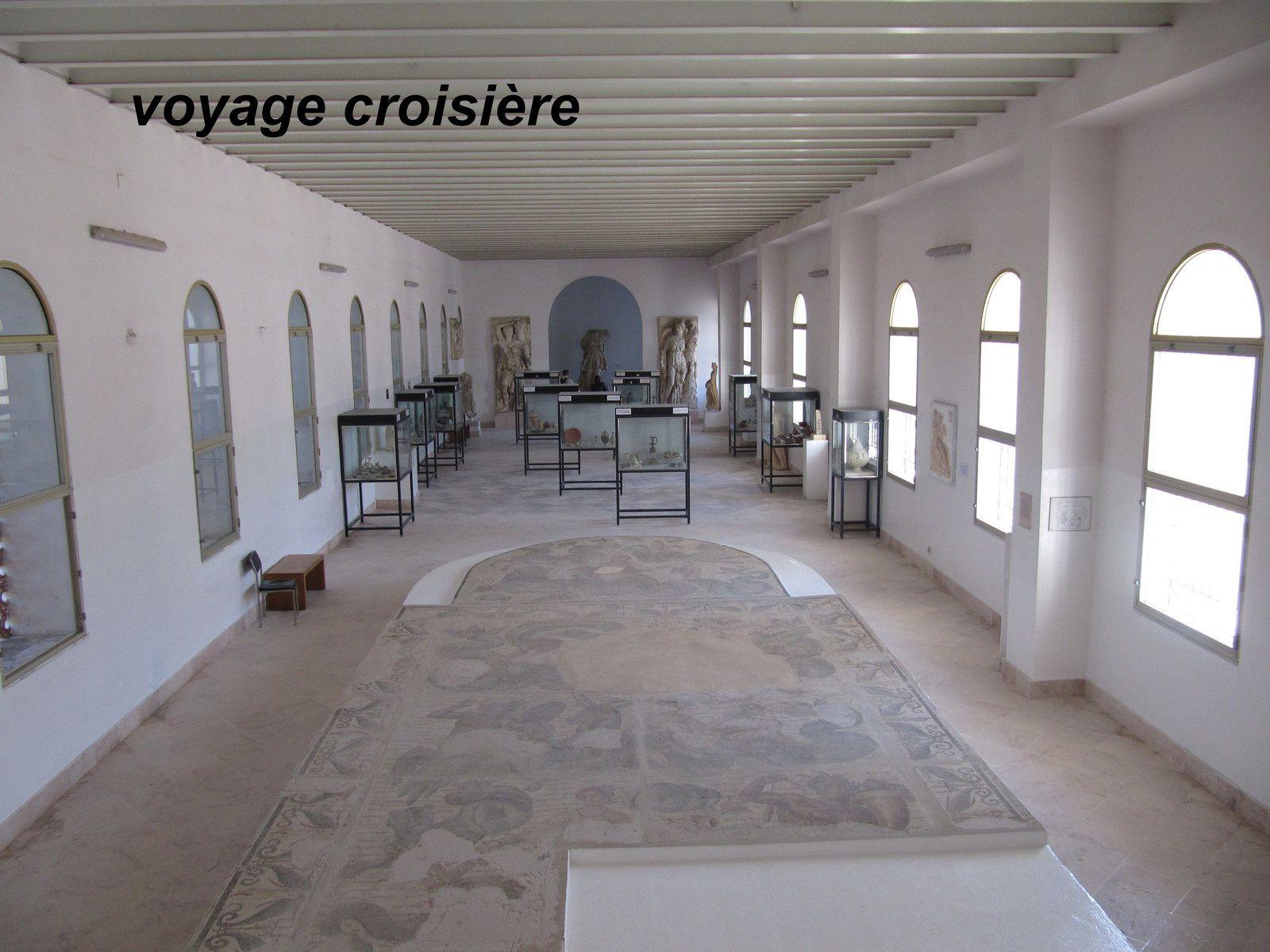 mosaique retrouvée dans les maisons phénitiennes