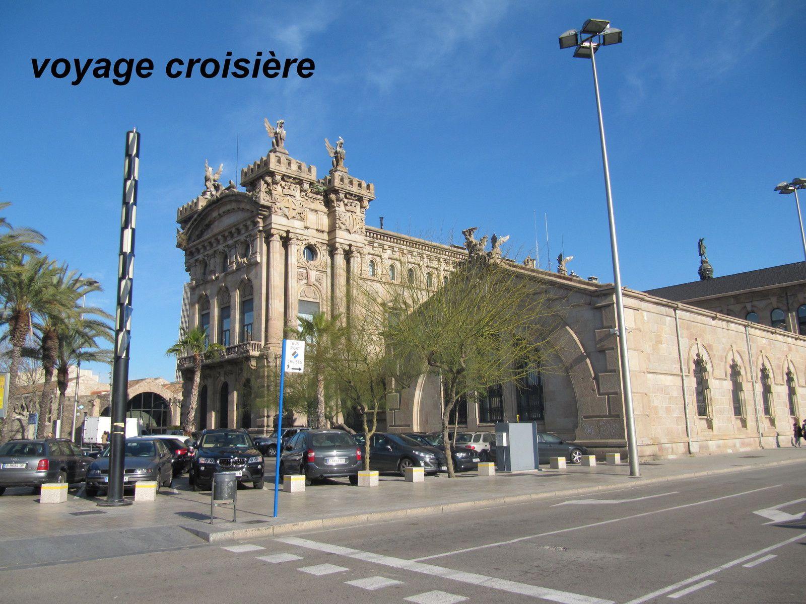 gare maritime de barcelone